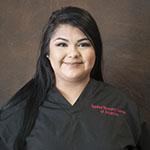 Andrea Villegas, Receptionist and Intrepreter